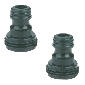 Gilmour Light Duty Hose Quick Connector Set Male Poly Black 12ea/1 In X 2.9 In X 4.7 in