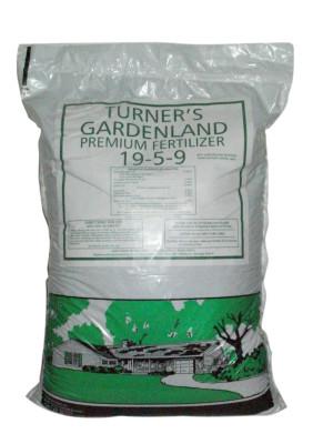 Easy Gro Turner Gardenland Premium Fertilizer 19-5-9 60ea/40 lb