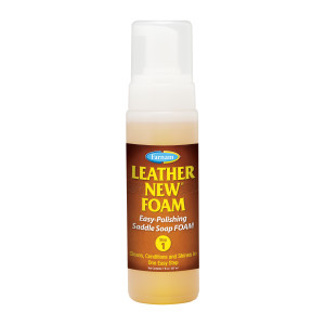 Farnam Leather New Foam Easy Polishing Saddle Soap Foam 12ea/7 oz