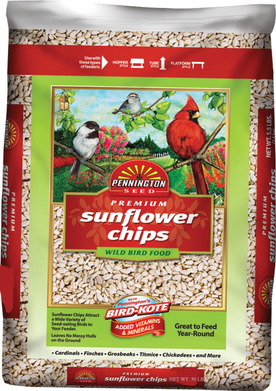 Pennington Premium Sunflower Chips Bird Food 1ea/50 lb