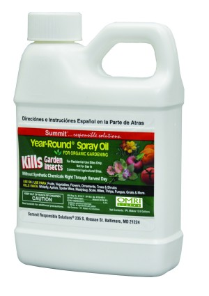 Summit Year-Round Spray Oil Kills Garden Insects 6ea/16 fl oz
