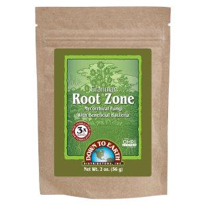 Down To Earth Root Zone Granular Mycorrhizal Fungi OMRI 24ea/2 oz