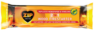 Zip 2 In 1 Wood Firestarter 1ea/5.3 fl oz