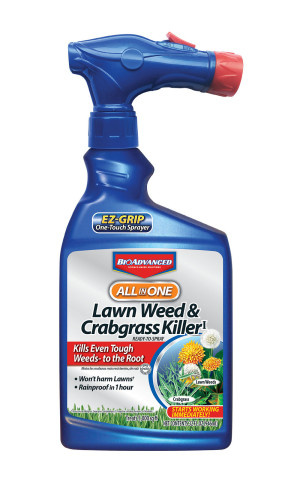 BioAdvanced All In One Weed and Crabgrass Killer Ready to Spray Display 72ea/32 oz