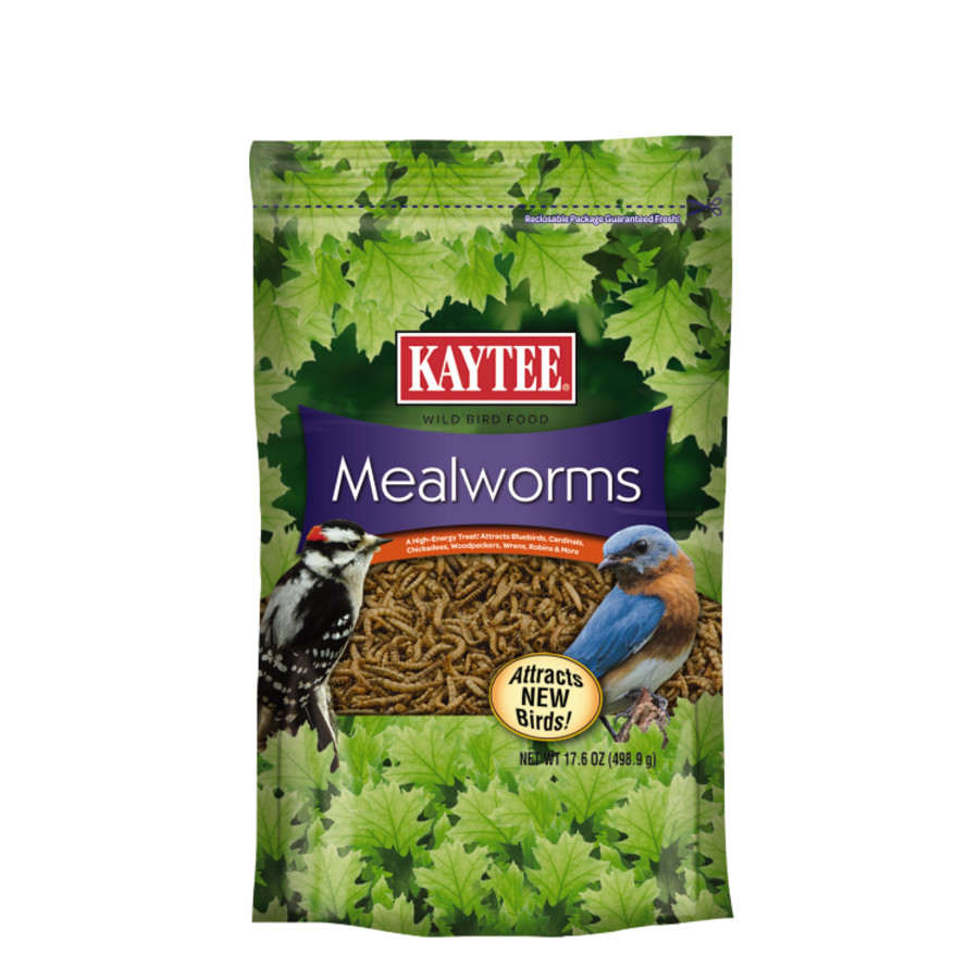 Kaytee Mealworm Food Pouch 4ea/17.6 oz
