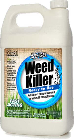 Avenger Weed Killer Ready To Use With Sprayer 4ea/1 gal