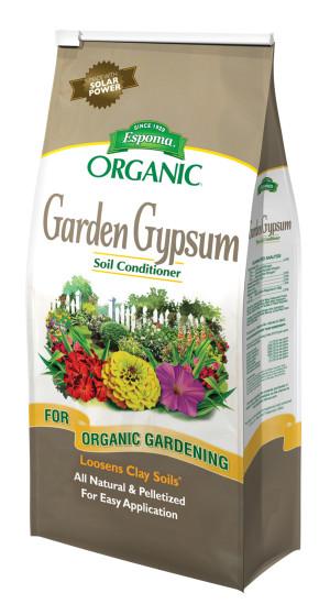 Espoma Organic Garden Gypsum Loosens Clay Soils 6ea/6 lb