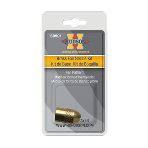 Hudson Brass Fan Nozzle Kit Yellow 1ea/1 In X 1 In X 1 in
