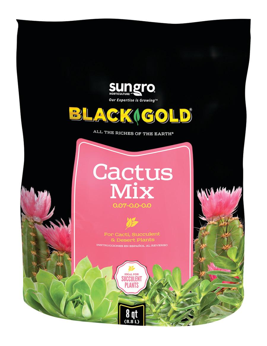 Black Gold Cactus Mix 4ea/0.07-0.0-0.0, 8 qt