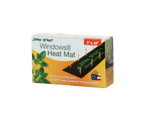 Hydrofarm Windowsill Heat Mat 7.3-Watt 10ea/3Inx20 in