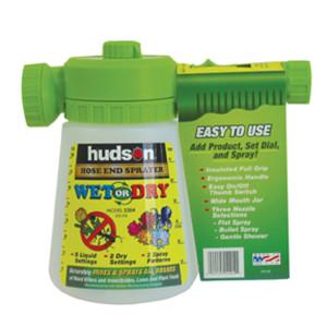 Hudson Wet/Dry and Liquids Hose End Applicator Sprayer White 6ea/50 gal