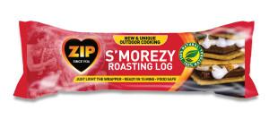 Zip S'morezy Roasting Log 9ea/24.7 fl oz