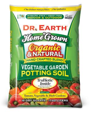 Dr. Earth Home Grown Vegetable Garden Potting Soil 1ea/16 qt