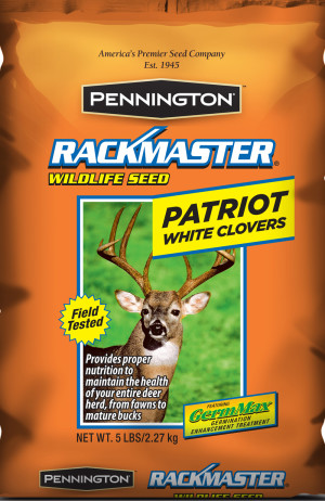 Pennington Rackmaster Patriot White Clovers Wildlife Seed 6ea/5 lb