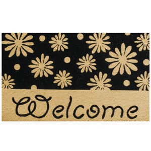 Robert Allen Mat Welcome Daises Welcome Daises 5ea/18Inx30 in