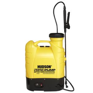 Hudson NeverPump Bak-Pak Battery Operated Sprayer Yellow 1ea/4 gal