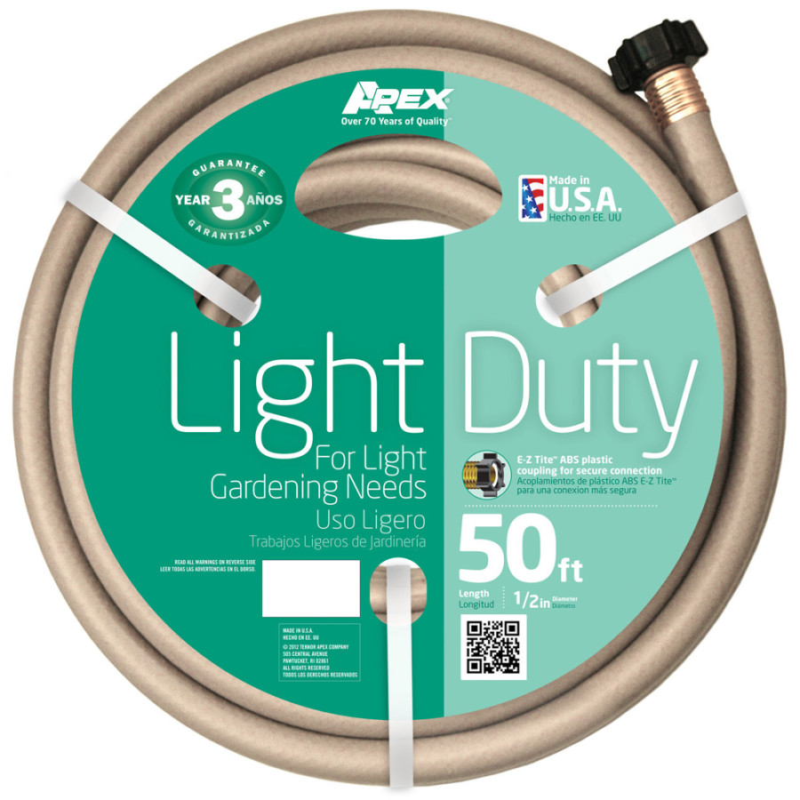 Teknor Light Duty Hose Tan 10ea/1/2Inx50 ft