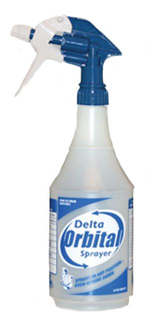 Delta Orbital Sprayer Blue, White 12ea/24 oz