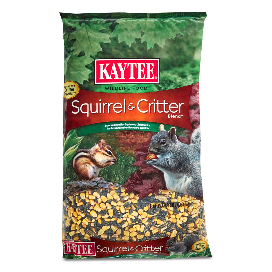 Kaytee Squirrel & Critter Blend Wildlife Food 4ea/10 lb