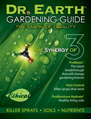 Dr. Earth Garden Guide POP Material 1ea
