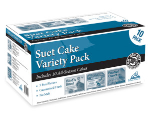 Heath Outdoor Products Suet Cake Variety Pack 10pk 1ea