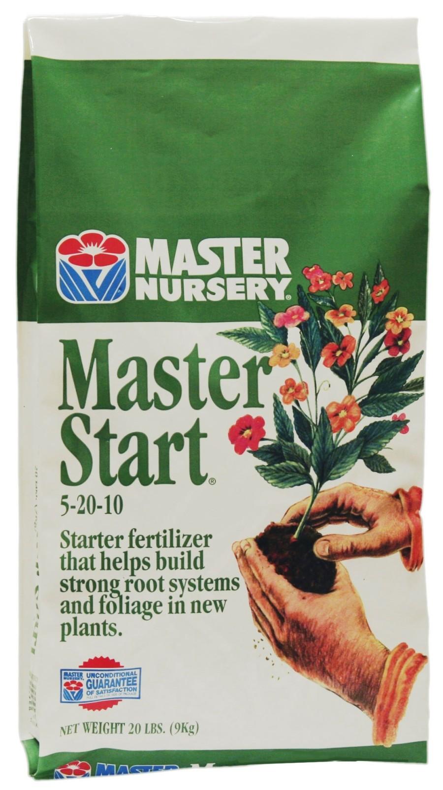 Master Nursery Master Start Fertilizer 5-20-10