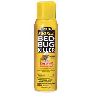Harris Bed Bug Killer Egg Kill Aerosol 12ea/16 oz