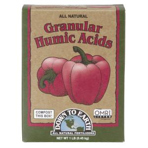 Down To Earth Granular Humic Acids All Natural OMRI 12ea/1 lb