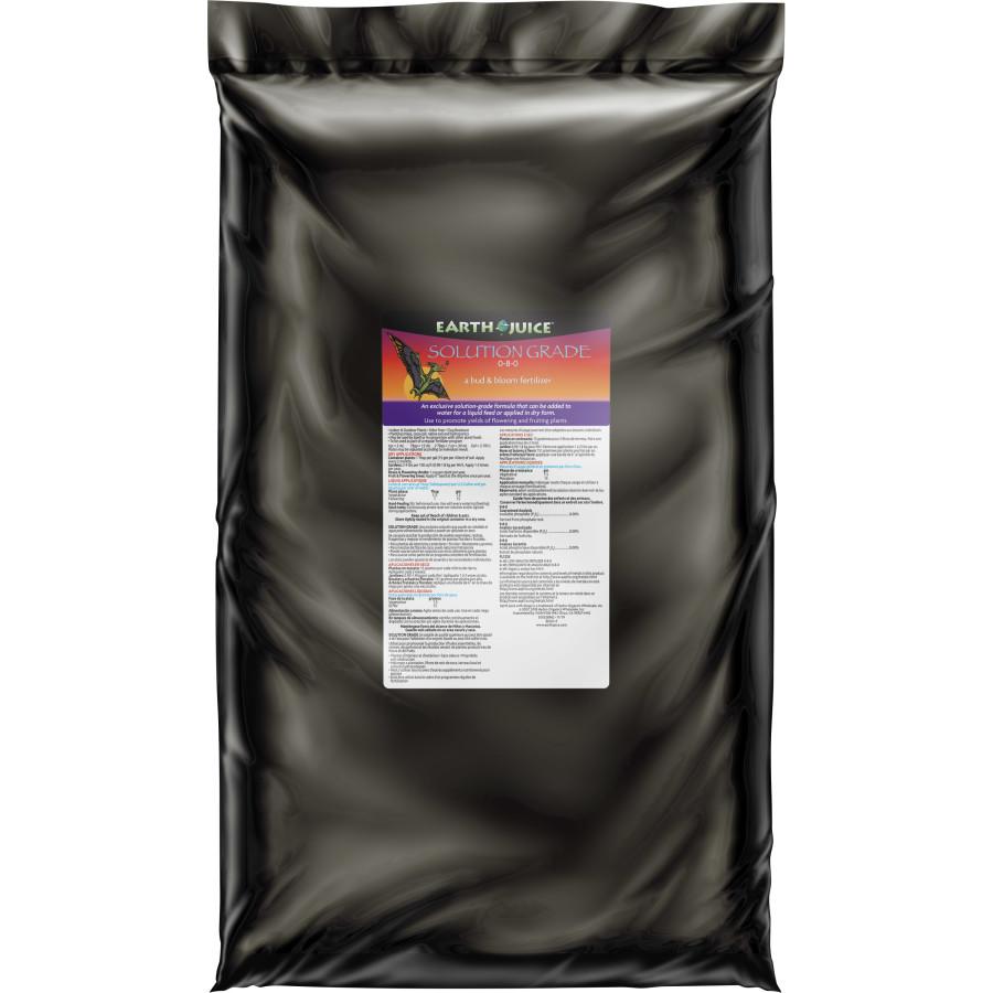 Earth Juice Solution Grade 0-8-0 Bud & Bloom Fertilizer 2ea/20 lb