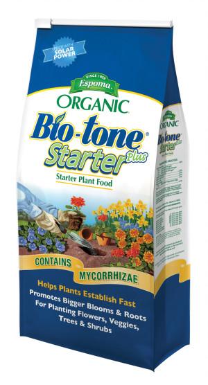 Espoma Organic Bio-tone Starter Plus Plant Food 4-3-3 12ea/4 lb