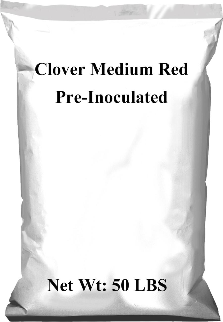 Pennington Clover Medium Red Pre-Inoculated Red 1ea/50 lb