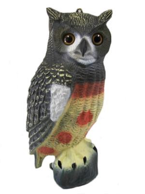 Bond Owl Decoy Brown 6ea/16.5 in
