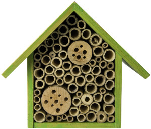 """Supermoss Beneficial Bug Hotel """"Heather"""" Lime Green 6ea/5.5 In (W) X 7.5 In (H)"""