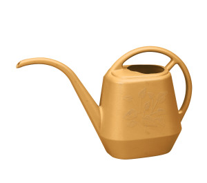 Bloem Aqua Rite Watering Can Earthy Yellow 12ea/56 oz