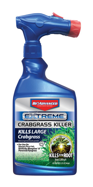 BioAdvanced Extreme Crabgrass Killer Ready To Spray 8ea/32 oz