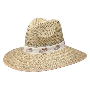Goldcoast Sunwear Rush Safari Prints Hat Natural 6ea/One Size