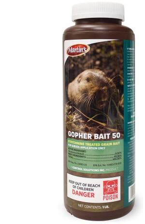 Control Solutions Gopher Bait 50 12ea/1 lb