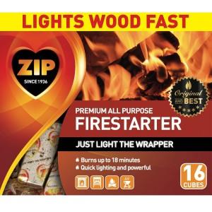 Zip All Purpose Firestarter 6ea/16 pk