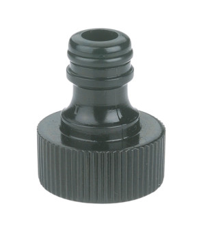 Gilmour Light Duty Faucet Quick Connector Male Male Grey 12ea