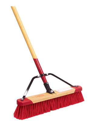 Harper Broom Push Medium Sweep 4ea/24 in