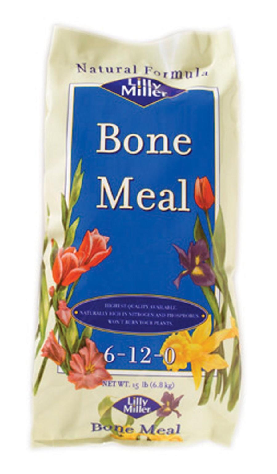 Lilly Miller Bone Meal Bag Organic 6-12-0 Pallet 1ea/15 lb