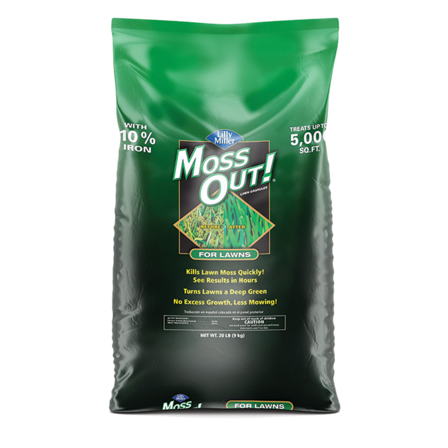 Lilly Miller Moss Out! For Lawns Granules Pallet 1ea/20 lb