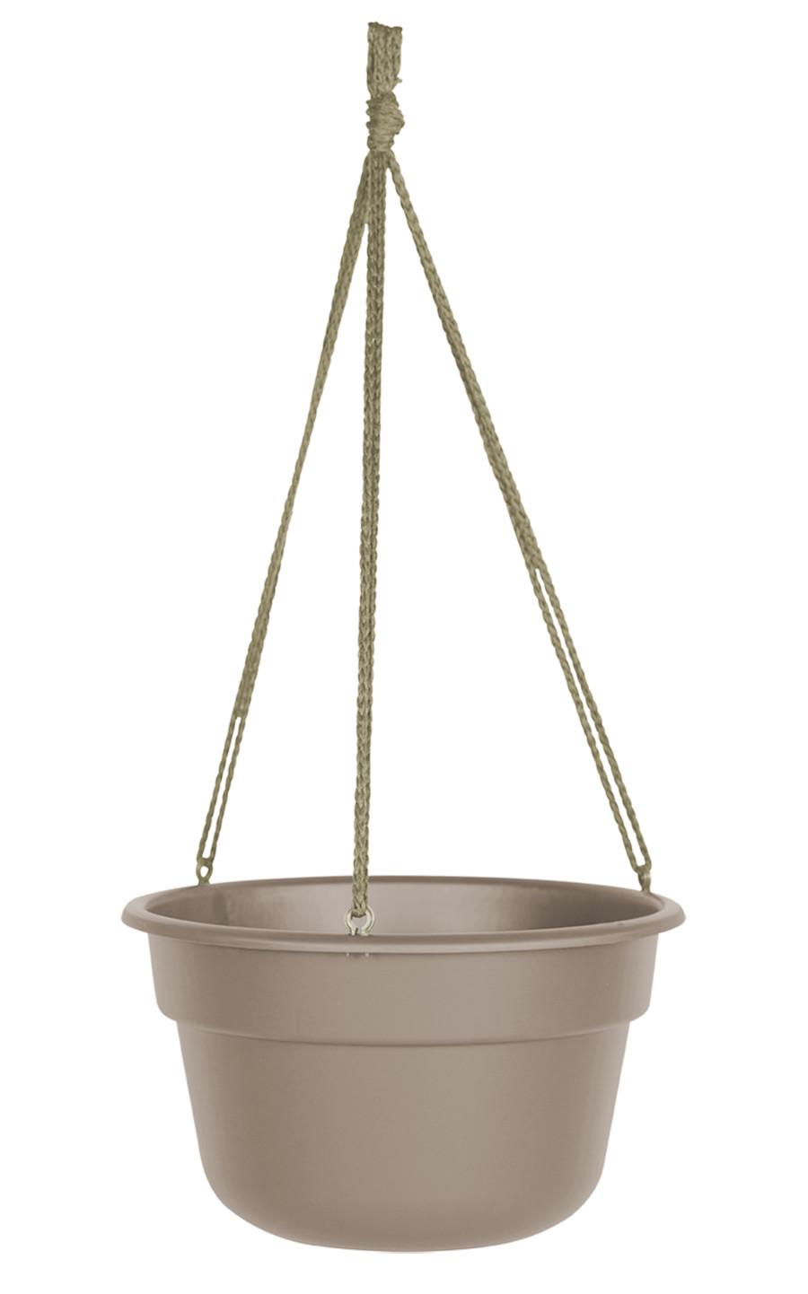 Bloem Dura Cotta Hanging Basket Planter Pebble Stone 12ea/12 in