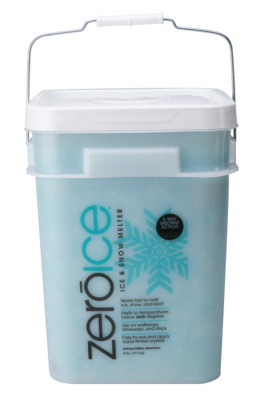 Howard Johnson Zero Ice & Snow Melter Bucket 60ea/40 lb