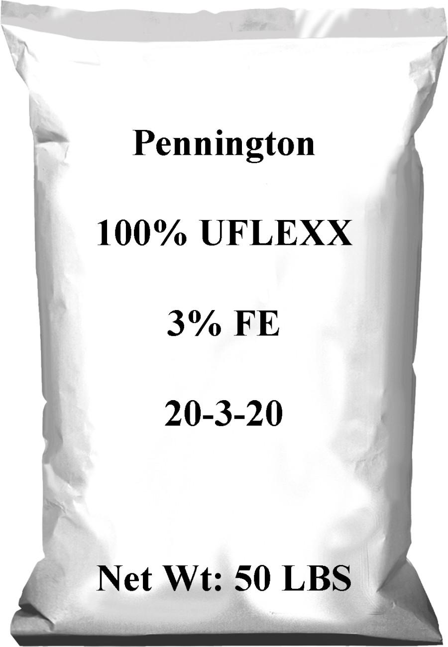 Pennington 20-3-20 100% UFLEXX 3% FE 1ea/50 lb