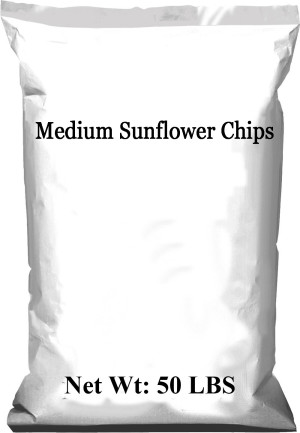 Medium Sunflower Chips 1ea/50 lb