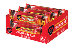 Zip The Firelog 1ea/2.2 lb