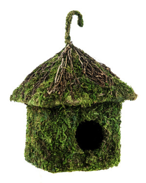 Supermoss Deco Birdhouse - Shack 6ea