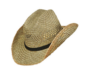 Goldcoast Sunwear Rush Western Hat Natural 6ea/One Size