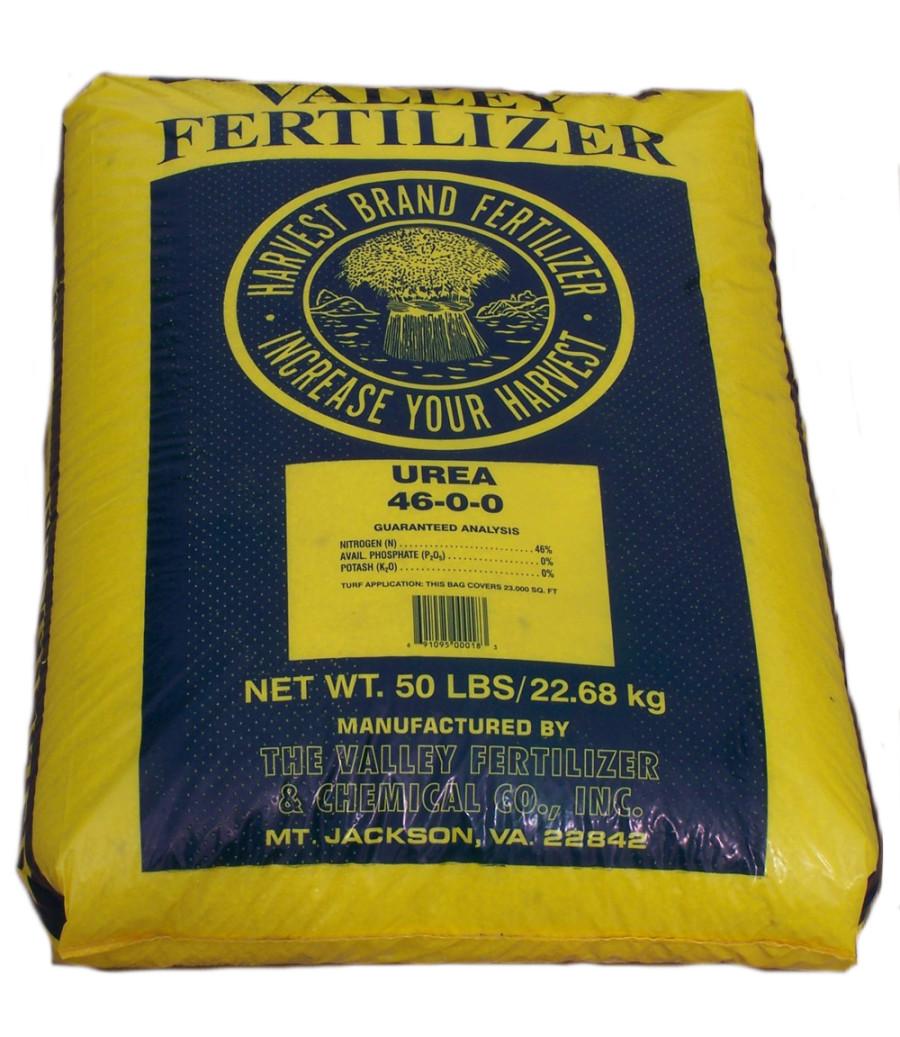 Valley Fertilizer Harvest Brand Urea 46-0-0 1ea/50 lb